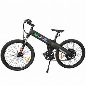 Ebike Mountain Bike : e go electric bike matt black electric bicycle mountain ~ Jslefanu.com Haus und Dekorationen