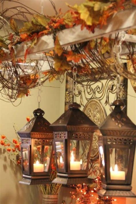 rustic autumn lanterns pictures   images