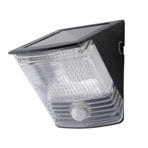 home depot flood lights all pro 100 degree black motion activated solar powered