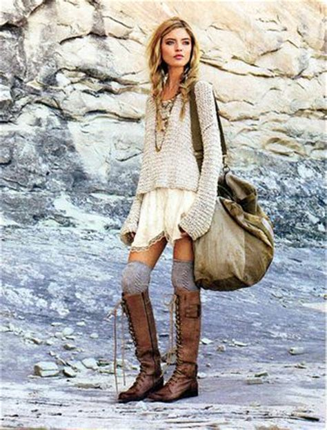 Crochet Hippie Cape Long Sleeve Boho Winter Style Dresses u2013 Designers Outfits Collection