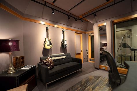 design room     modern studio   gray sofa  lighting design