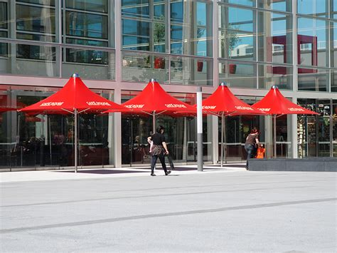 vortex parasols highly durable  wind resistant samson awnings