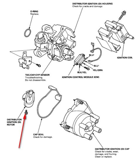 98 Honda Civic Ignition Wiring Harnes by Remove The Distributor Cap But Can T Access The Set