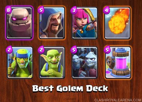 best golem deck clash royale guides