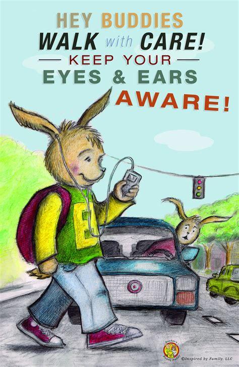 Brecker's Safety Tip: Pedestrian Safety! Stay Aware ...