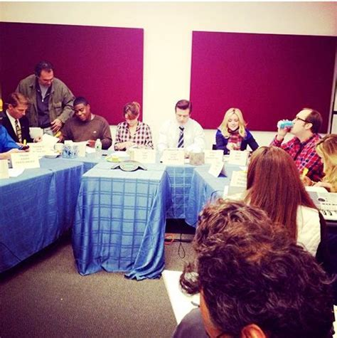 See a Candid Shot of 30 Rock's Final Table Read