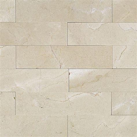 shop 9 pcs sq ft crema marfil 2x8 brushed tile at