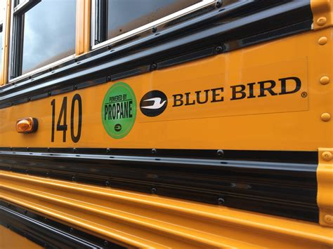 suburban pa school districts  green  propane buses