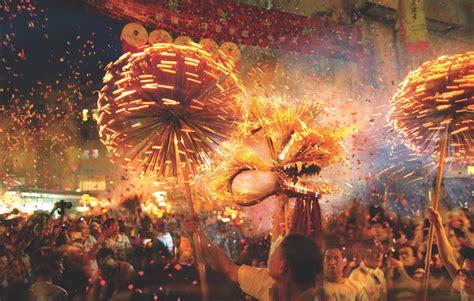 hong kongs dazzling fire dragon dance kate springer