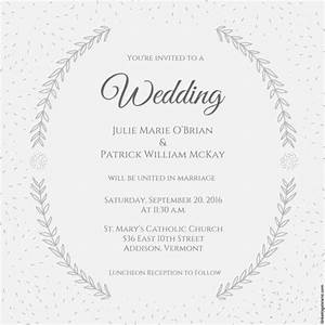 Wedding invitation template 71 free printable word pdf for Wedding invitations indesign template free