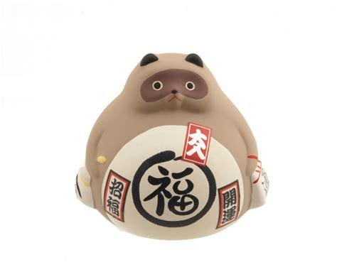tirelire tanuki bonheur japon style maneki neko 5303