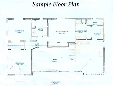 how to draw floor plans for a house how to draw floor plan scale cool plans house drawing