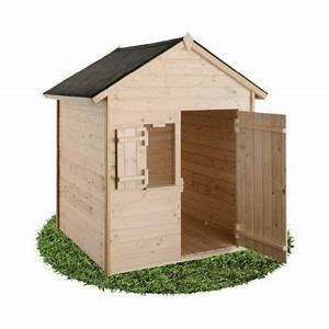 Maison Enfant Castorama : maisonnette en bois janaka 2 castorama ~ Premium-room.com Idées de Décoration