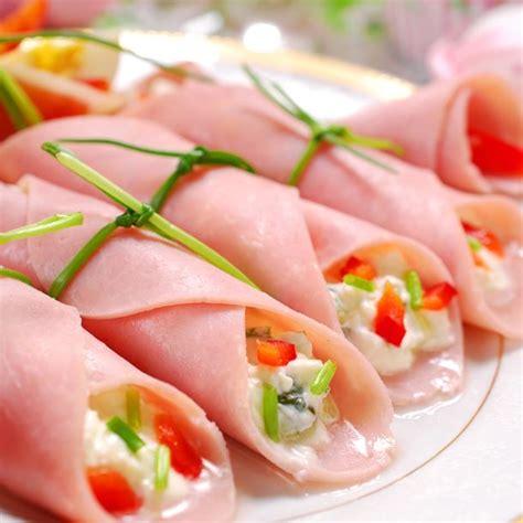 recette de cuisine russe recette cornets de jambon à la macédoine facile rapide