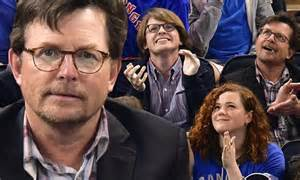 Michael J Fox and son Sam look nearly identical at NHL cup ...