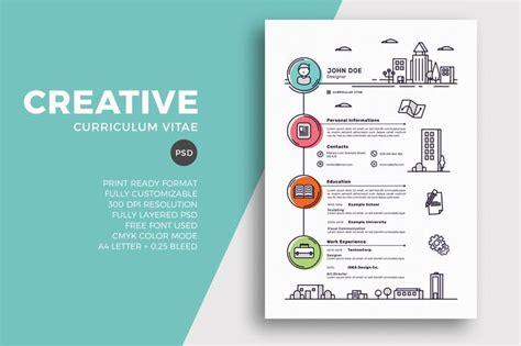 creative resume cv template  eightonesixstudios
