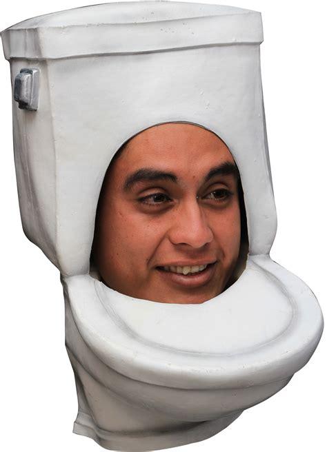lustiger hut maske toilette wc weiss guenstige faschings