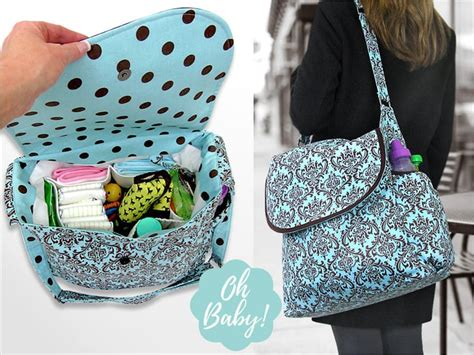 affordable ease cute   diy diaper bags