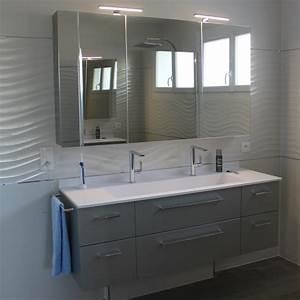 Meuble De Salle : meubles de salle de bain contemporain atlantic bain ~ Nature-et-papiers.com Idées de Décoration
