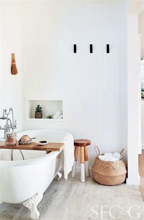 Serene Bathroom Dressed Silver by Photographers Trinette Chris Embrace Tiny Living In A