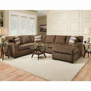 American furniture 5250 sectional sofa seats 5 vandrie for American home furniture couches