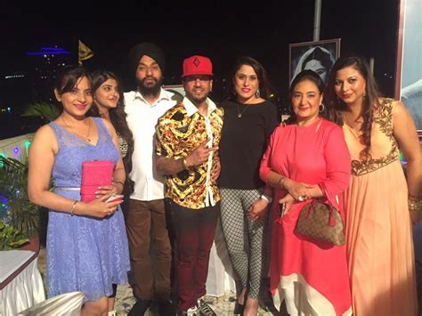 Jazzy B With Wife And Family