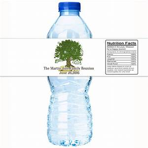 30 family reunion water bottle labels family reunion decor for Family reunion water bottle labels