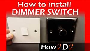 How To Wire Dimmer Switch Replacing One Way Switch With