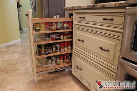 kitchen pantry designs pictures use every inch of your cabinet space and add a spice rack 5481