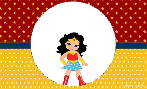 Mulher Maravilha kids: Personalizados gratuitos Inspire
