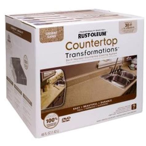 home depot cabinet resurfacing rust oleum countertop