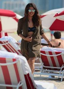 Priyanka Chopra in Bikini on Miami Beach