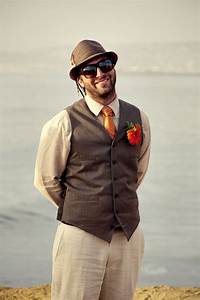 Picture Of Cool Beach Wedding Groom Attire