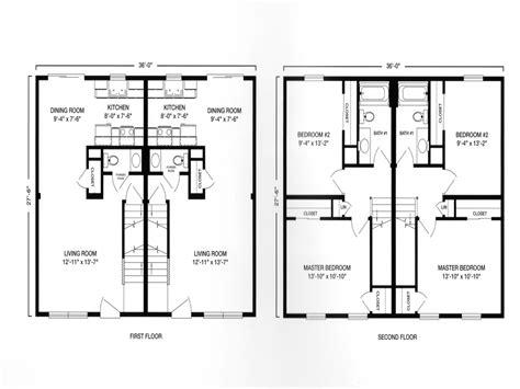 2 floor plans with garage modular ranch duplex with garage plan modular duplex two