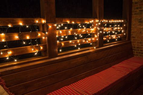 deck hanging string lights med home design posters