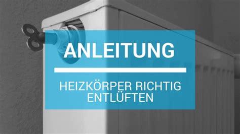 heizung entlüften anleitung heizung richtig entl 252 ften anleitung schlauer wohnen