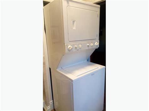 apartment size stackable washer  dryer rideau township