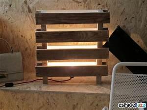 Lampe En Palette : 30 id es de r cup pour palettes ~ Voncanada.com Idées de Décoration