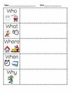 5ws Graphic Organizer By Farley Teachers Pay Teachers