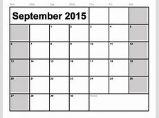 Writeable Calendar 2016 Free Calendar Template