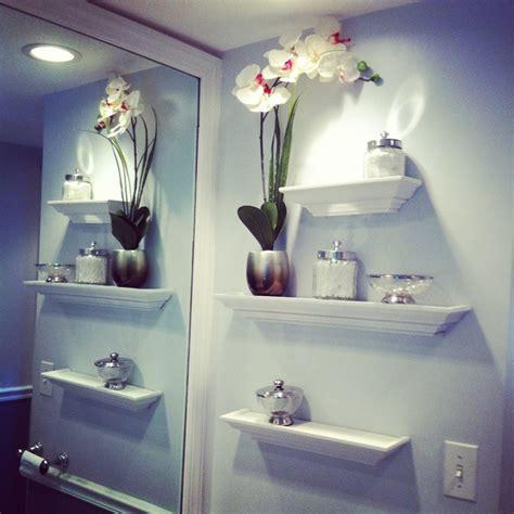 bathroom wall design ideas beautiful bathroom wall decor flower vase