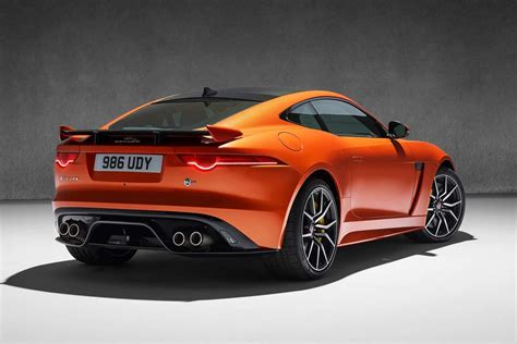 Jaguar F-type Svr Coupe And Convertible Launched In India