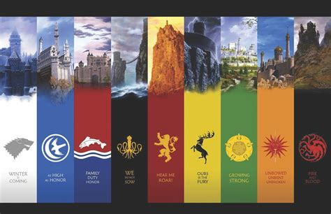 colormart game  thrones flags photographic paper