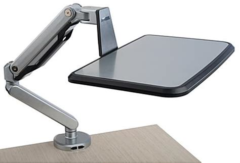 laptop desk mount arm cl on laptop shelf articulating arm w swivel tray