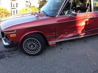 buy used 1975 bmw 2002 e10 325i engine a pillar damage from accident in brisbane california