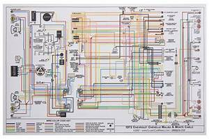 Wiring Diagram  1972 Ch  Ec  Mc  11x17  Color  Round W   Lights