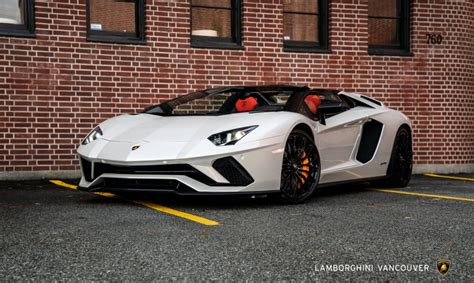 lamborghini aventador s roadster color vehicle inventory lamborghini vancouver
