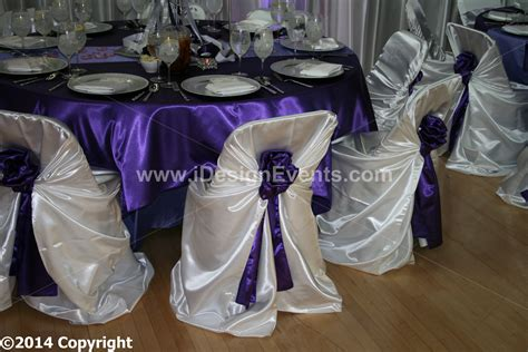 White Satin Universal Pillow Case Self-tie Chair Covers