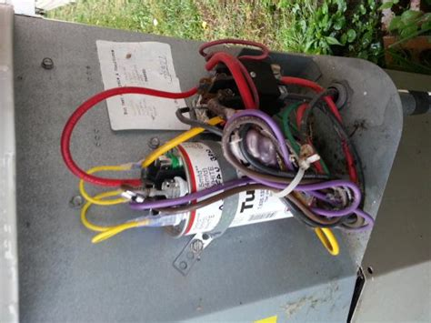 Replaced Capacitor Cooled For Few Hours Then
