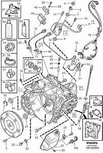 Volvo V70 Transmission  Automatic Related Parts Aw55 51sn